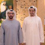 H.H. Sheikh Hamdan & Sheikh Khalifa Bin Khalid Bin Ahmed Bin Hamed Al Hamed.