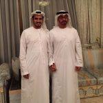 H.H. Sheikh Mohammed Bin Zayed Al Nahyan & Sheikh Khalifa Bin Khalid Bin Ahmed Bin Hamed Al Hamed.